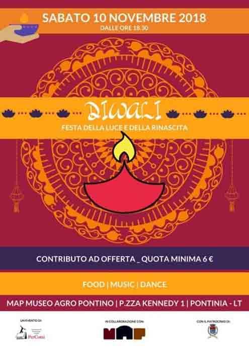 Diwali Festa della Luce e della Rinascita Locandina