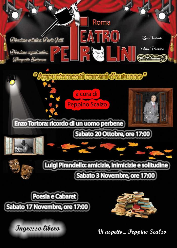 Enzo Tortora Teatro Petrolini locandina