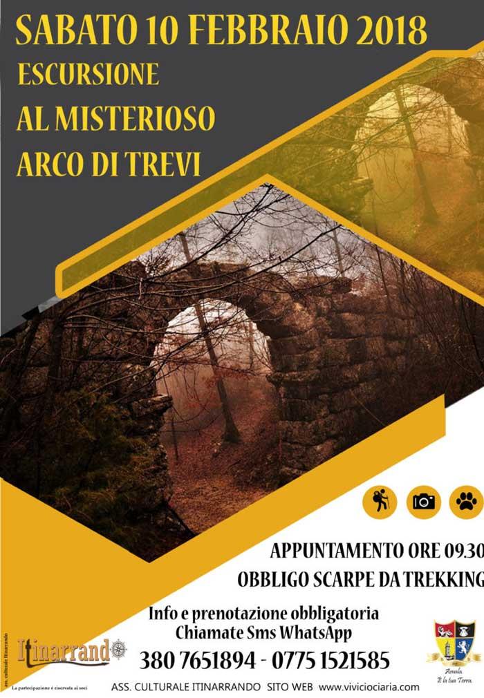 Escursione Arco di Trevi
