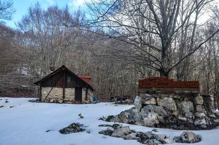 escursione rifugio vetica monti lepini