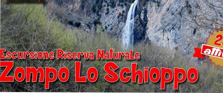 Escursione Zompo Lo Schioppo