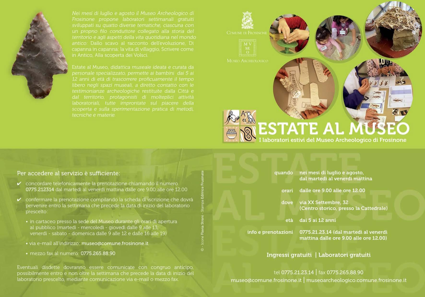 Estate al Museo 2017 Brochure