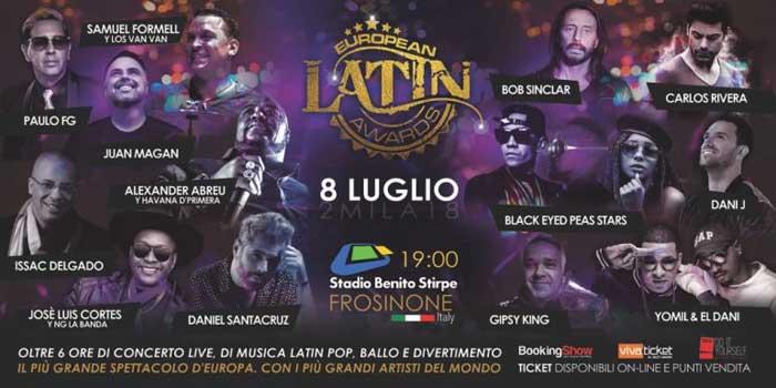 European Latin Awards Frosinone