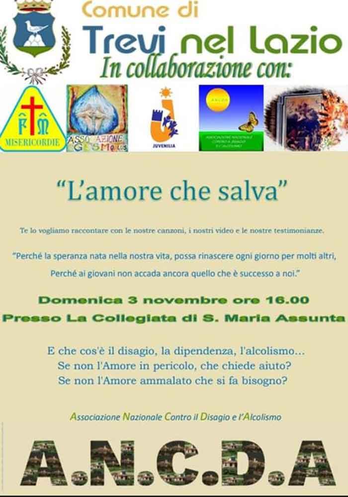 evento ANCDA a Trevi nel Lazio