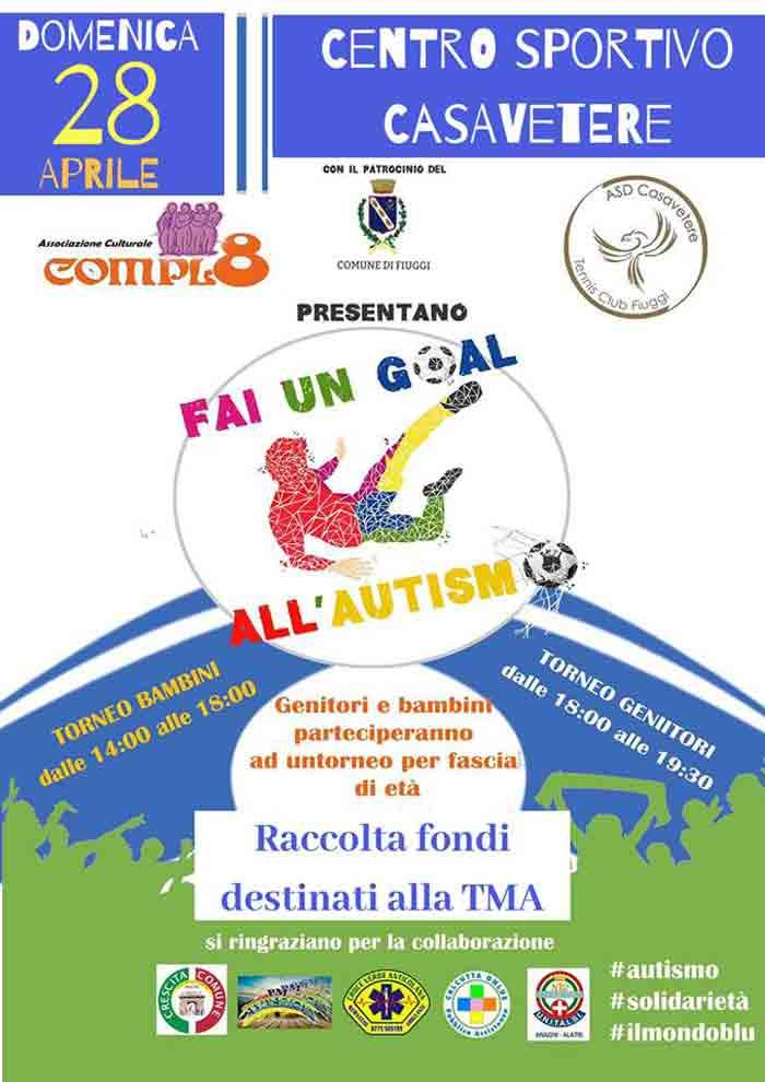evento contro autismo Fiuggi