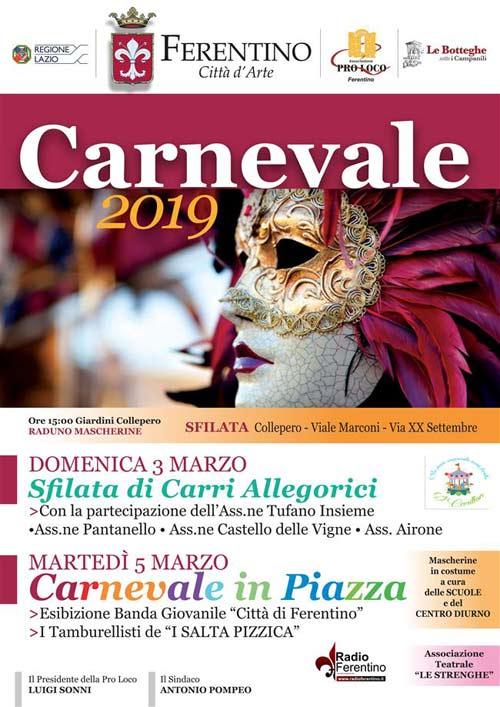 Carnevale 2019 Ferentino