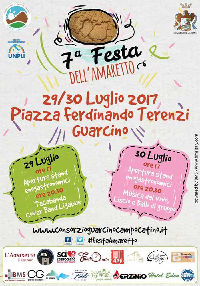 Festa Amaretto Guarcino 2017 Settima Edizione