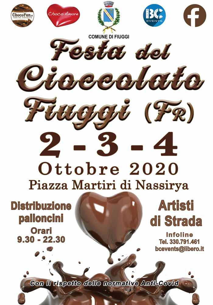 Festa del- Coccolato Fiuggi Locandina