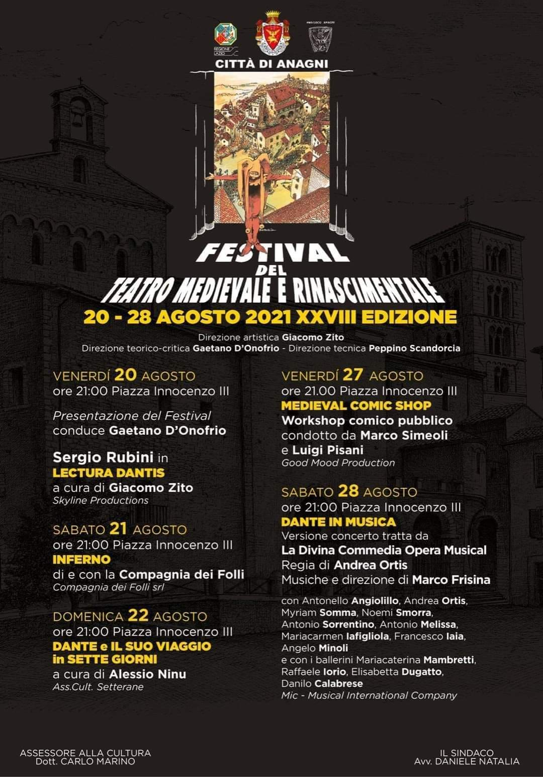 Festival Teatro Medievale e Rinascimentale Anagni