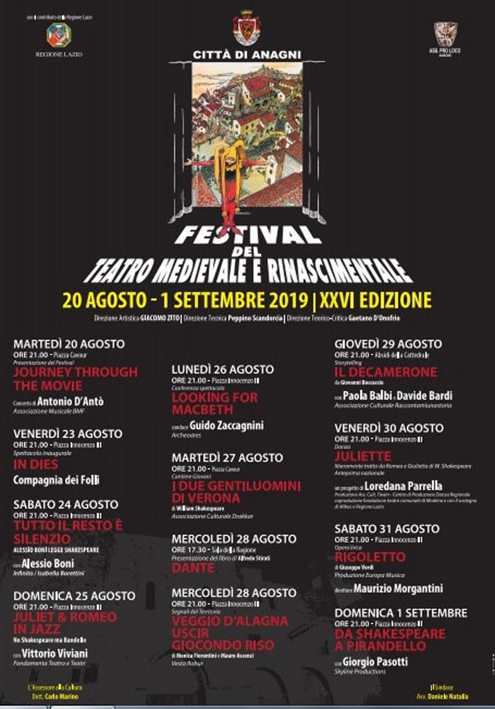 festival del teatro medievale e rinascimentale