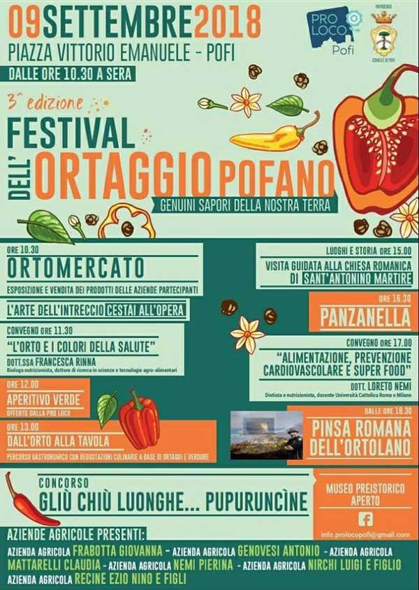 Festival Ortaggio Pofano