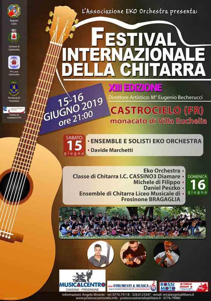 festival della chitarra Castrocielo
