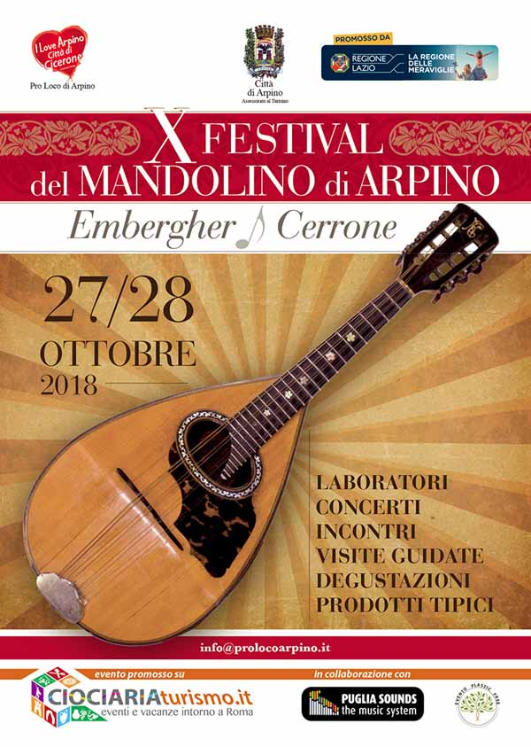 Festival Mandolino Arpino 2018
