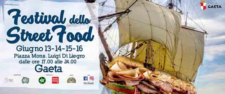 Festival dello street food a Gaeta
