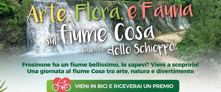 Arte, Flora e Fauna sul Fiume Cosa
