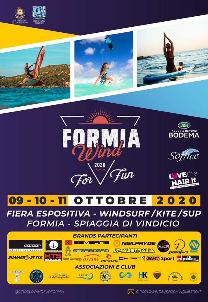Formia Wind For Fun 2020 Locandina