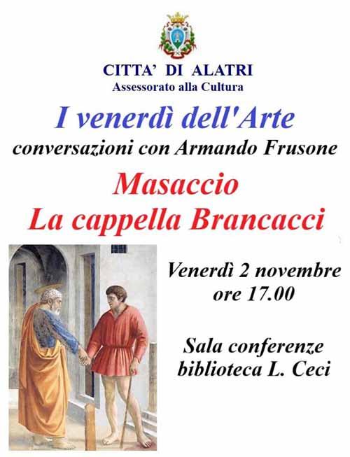 Frusone Alatri Masaccio-venerdi