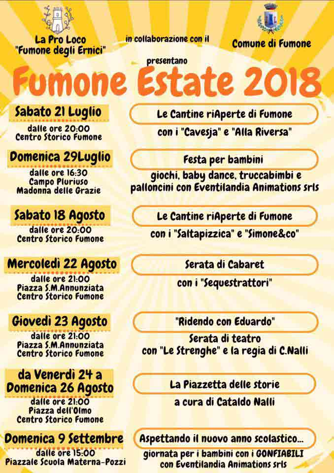 Fumone Estate 2018