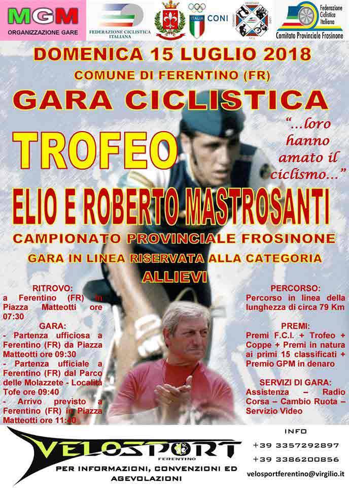 Gara Ciclistica Ferentino