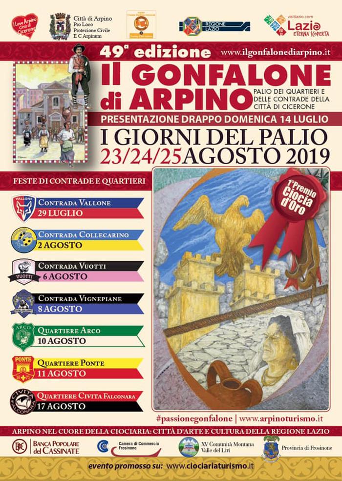 gonfalone Arpino