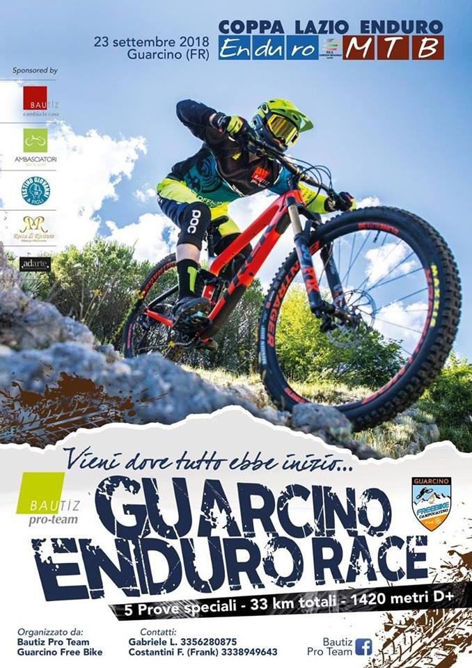 Guarcino Enduro Race Locandina 2018