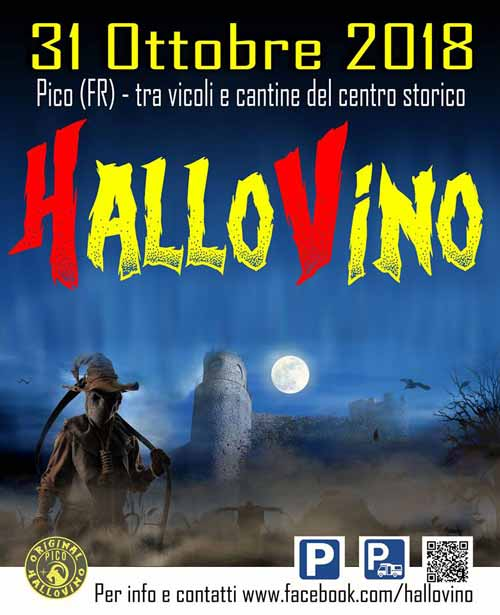 Hallovino 2018 Pico Halloween
