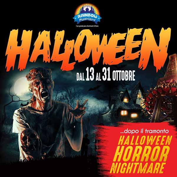 Halloween Rainbow Magicland 2018 Valmontone