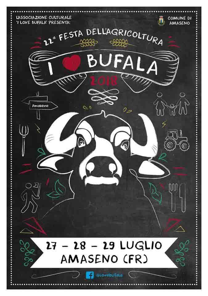 I Love Bufala Amaseno Locandina