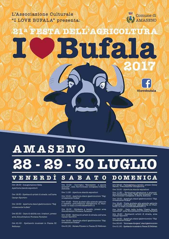 I love Bufala Locandina