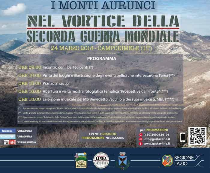 Monti Aurunci seconda Guerra Mondiale