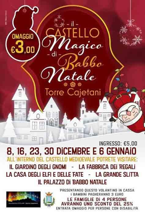 Il Castello Magico di Babbo Natale Locandina