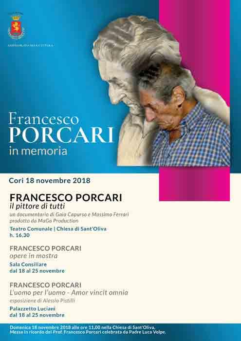In Memoria Francesco Porcari Locandina