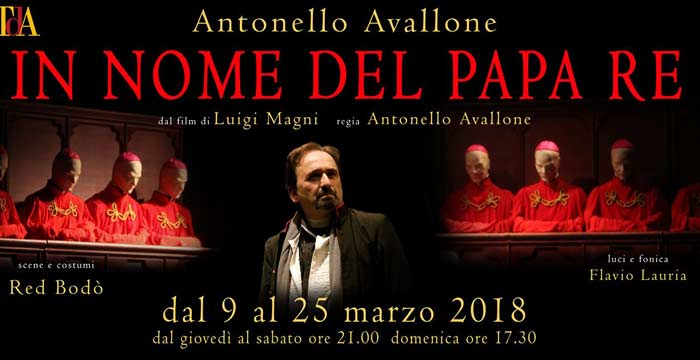 In nome del Papa Re Teatro dell'Angelo
