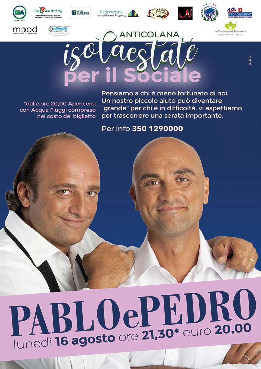 Isola Estate Spettacolo Pablo e Pedro