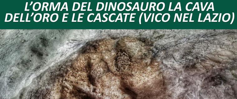 Escursione alla ricerca dell'orma del dinosauro con Itinarrando