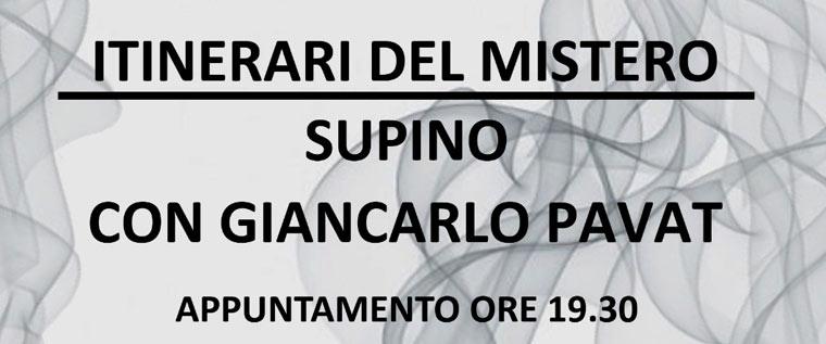 Itinerari del mistero a Supino con Giancarlo Pavat