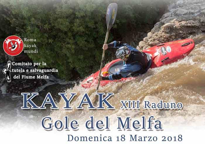 Kayak Gole del Melfa