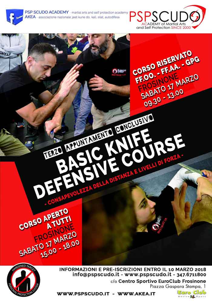 Knife Defence Frosinone