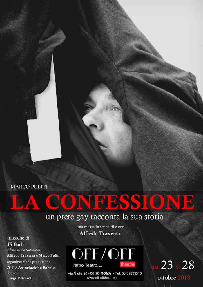La Confessione Locandina Roma 2018