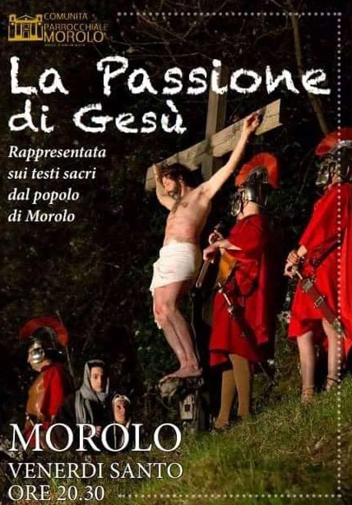 La passione di Gesu Morolo