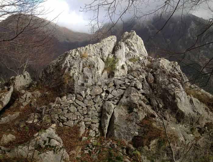 La roccia dei Tedeschi San Donato Vacomino