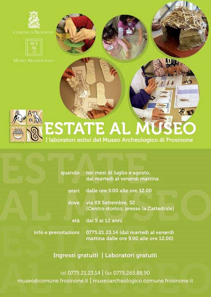 Laboratorio Creativo Museo Frosinone