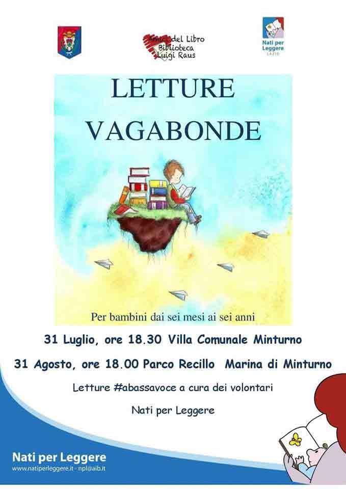 Letture Vagabonde Minturno Locandina