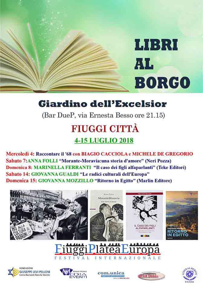 Libri al Borgo Fiuggi Locandina