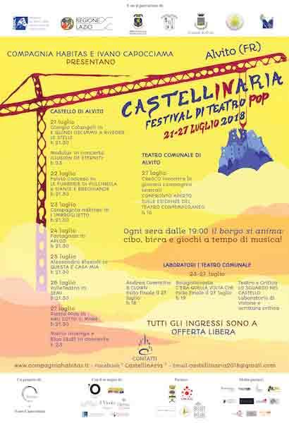 Locandina Castellinaria Alvito