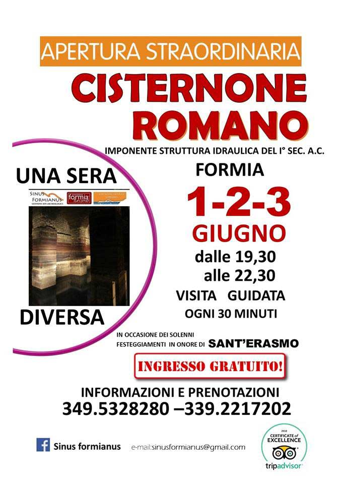 Locandina Cisternone Romano