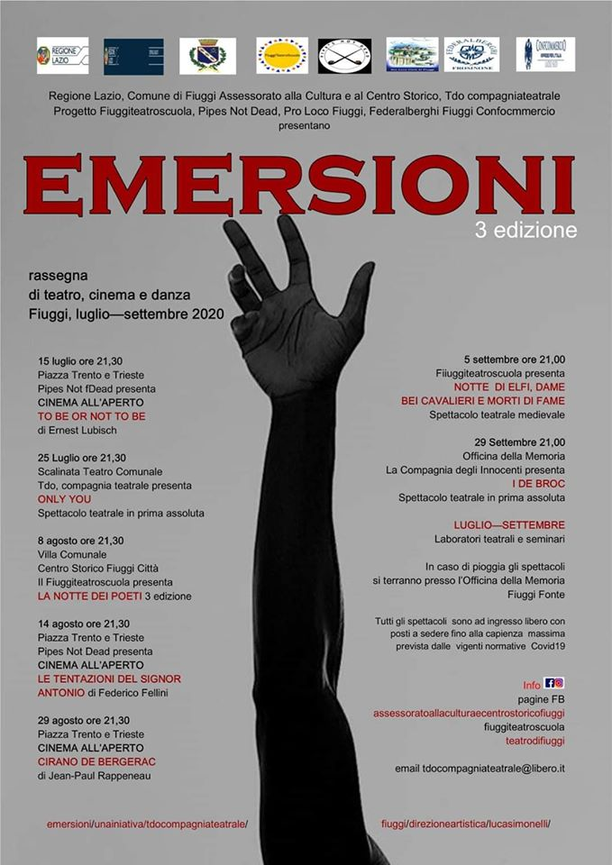 Emersioni Cinema Teatro Fiuggi