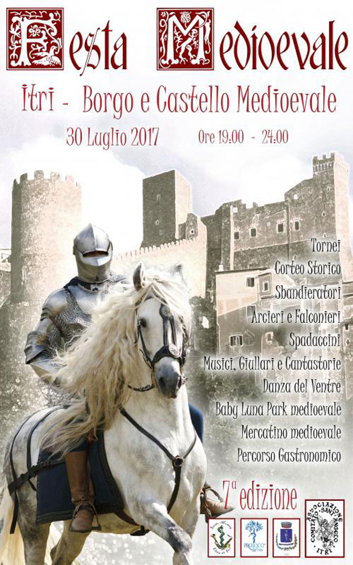 Locandina Festa Medioevale Itri