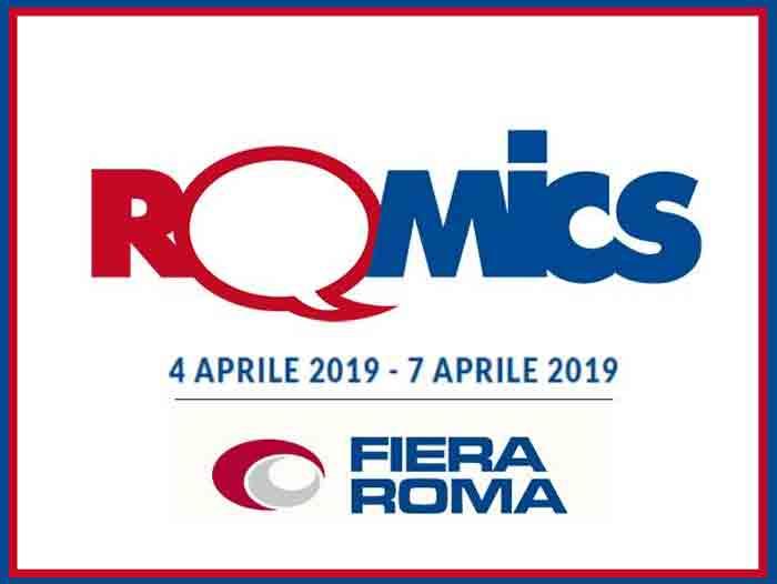 locandina romics aprile