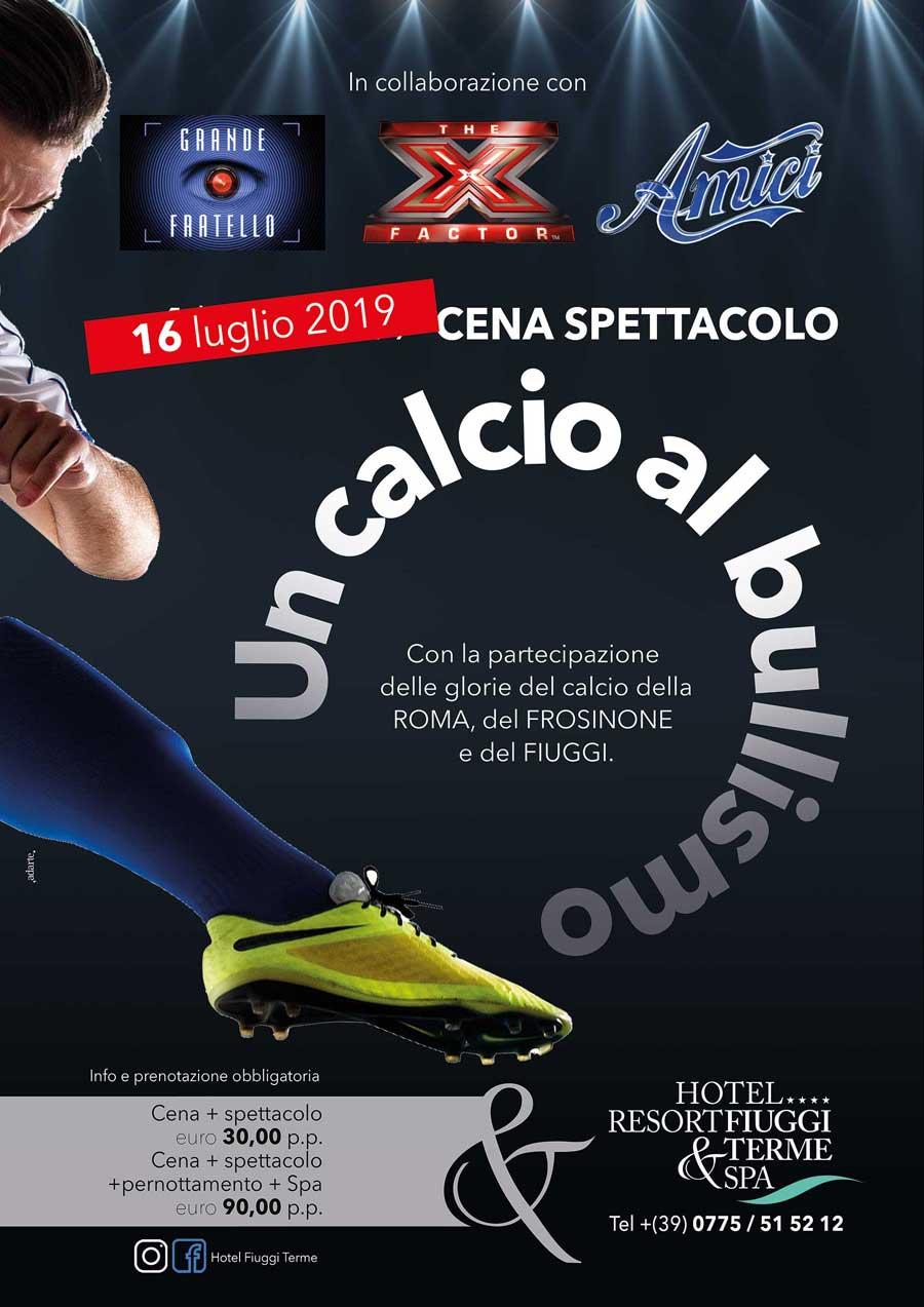 Locandina Un Calcio Al Bullismo Fiuggi-terme